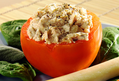 Keto Tuna Stuffed Tomato