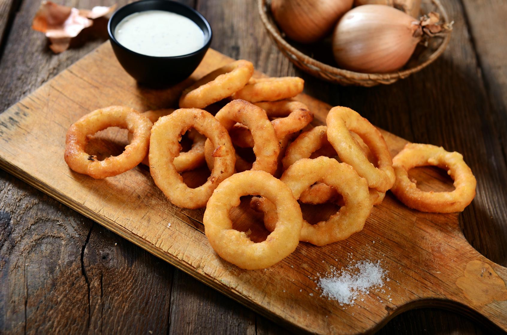 onion rings on keto diet