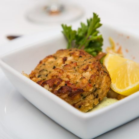 Crab Cake with Easy Remoulade