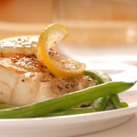 Alaskan Cod With Lemon Butter