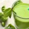 Basil Mint Green Smoothie