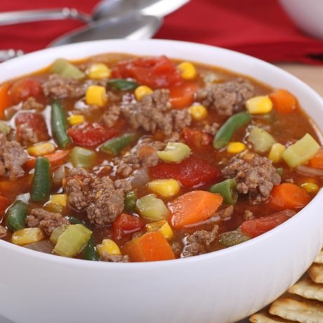 Hearty Hamburger Soup